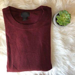 •J. Crew• Italian cashmere sweater